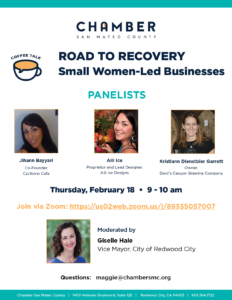 Coffee Talk: ROAD TO RECOVERY - Women-Owned Small Businesses