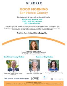 Good Morning San Mateo County: Redwood City Update