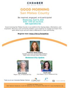 Good Morning San Mateo County: San Carlos Update